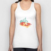 vancouver Tank Tops featuring Vancouver - Canada by ahutchabove