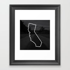 Ride Statewide - California Framed Art Print