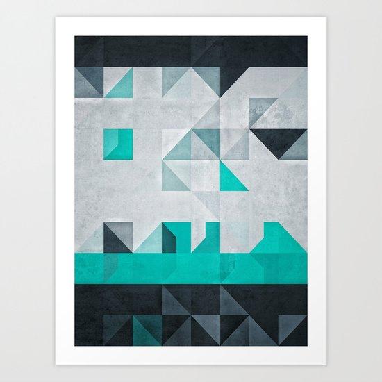 crysopryse lyne Art Print