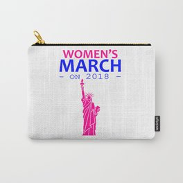 Women's March On 2018 Carry-All Pouch