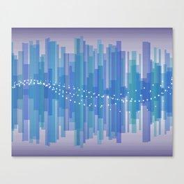 Blasting Waves Canvas Print