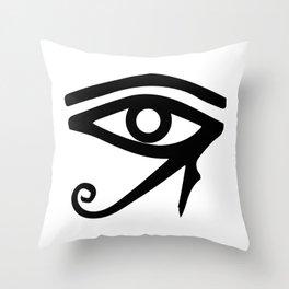 The Eye of Ra Throw Pillow