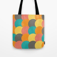 Bright Decaying Scales Tote Bag