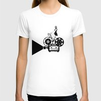 cinema T-shirts featuring Cinema Paradiso by Henn Kim