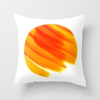 venus Throw Pillows featuring Venus by sustici