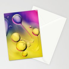 Oil Swirl Abstract Stationery Cards