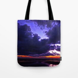 Belfast ferry passing Tote Bag
