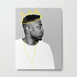 King Kendrick Metal Print
