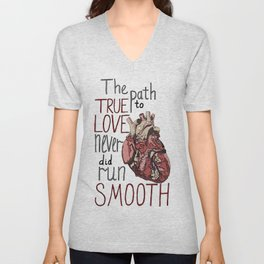 Path to true love Unisex V-Neck