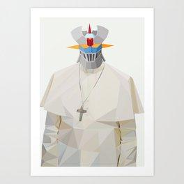 Popezinga Art Print