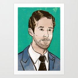 Ryan Gosling Art Print