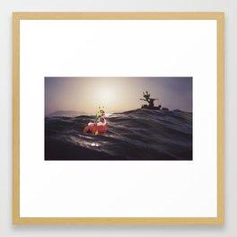 Wind Waker IRL Framed Art Print