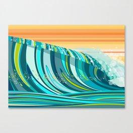 LIQUID SOLACE Canvas Print