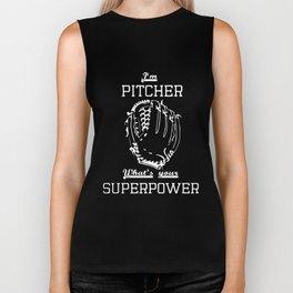 im pitcher what your superpower soccer game Biker Tank