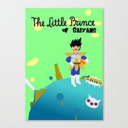 Little Prince of Saiyans Canvas Print