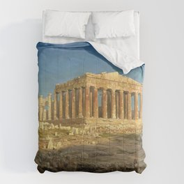 Frederic Edwin Church - The Parthenon - Digital Remastered Edition Comforters