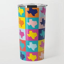 texas rainbow Travel Mug