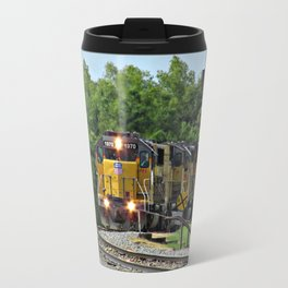 Train by the River, Baton Rouge Travel Mug