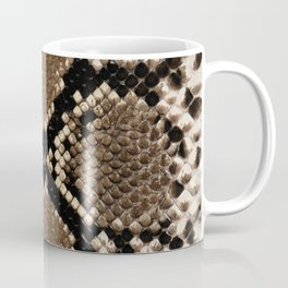 Faux Python Snake Skin Design Coffee Mug