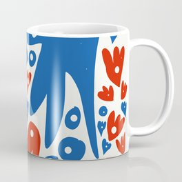 French Life Summer Art Abstract Coffee Mug
