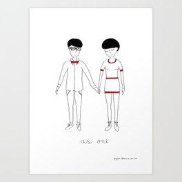 As One Art Print