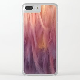 Wool Clear iPhone Case
