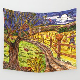 Harvest Moon Wall Tapestry