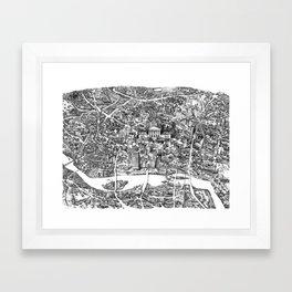 Richmond, Va Framed Art Print