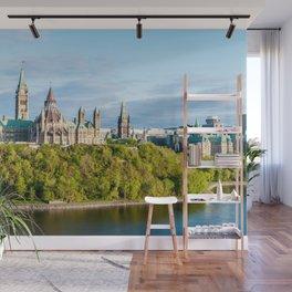 Parliament Hill in Ottawa - Ontario, Canada Wall Mural