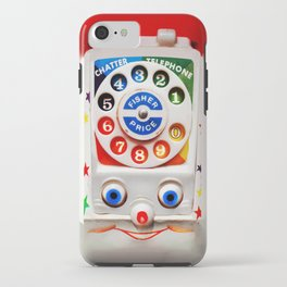 Classic Retro vintage Smiley Toys Dial Phone iPhone Case