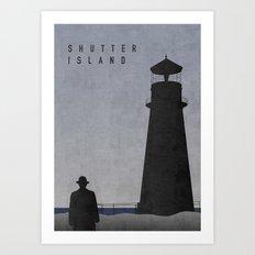 SHUTTER ISLAND Art Print