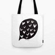 love bubble Tote Bag