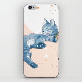 just a happy cat iPhone Skin