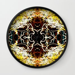 Chaos Tree Kaleidoscope 2 Wall Clock