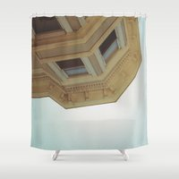 victorian Shower Curtains featuring victorian by jared smith