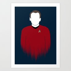 Scotty Art Print