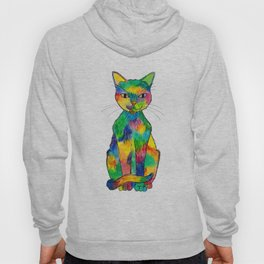 Rainbow Cat Hoody