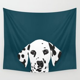 Ryan - Dalmatian art print phone case decor for pet lover and dog lover Wall Tapestry