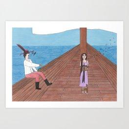 Sing for me! Art Print