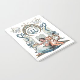 Every Girl Is A Princess 03: Arabian Nights Art Nouveau Aladdin's Princess Jasmine and Rajah Notebook