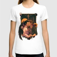 destiel T-shirts featuring so broken (text) by Mantis