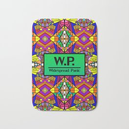 WP - Widespread Panic - Psychedelic Pattern 1 Bath Mat
