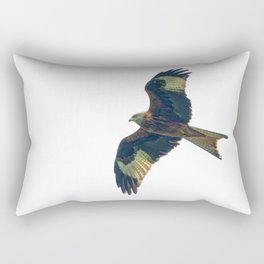 flying red kite Rectangular Pillow