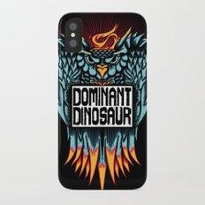 Dominant Owl iPhone X Slim Case