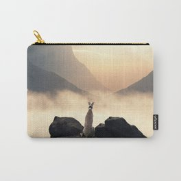 Sunset of a greyhound Carry-All Pouch