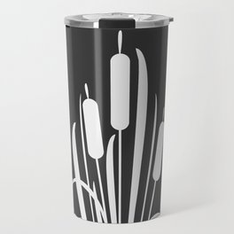 Elegant Bush of Reed Travel Mug