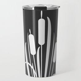 Elegant Bush of Reed Travel Mug