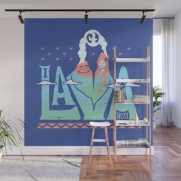 One Lava Wall Mural