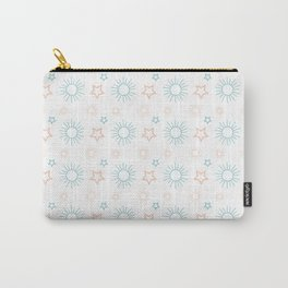Stars and Sun Aligned Carry-All Pouch