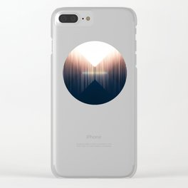 Opposing Dimensions Clear iPhone Case